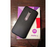 Celular Motorola Moto G Tercera Generación LTE libre SUMERGIBLE