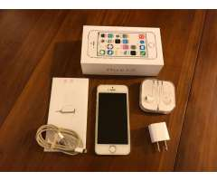 iPhone 5s 16 Gb libre. Blanco y silver. Excelente estado