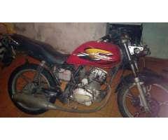 Moto Kin 125 con Libreta