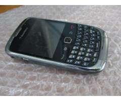 Celu Blackberry CURVE 9300 PLATEADO liberado todas empresas funcina perfecto