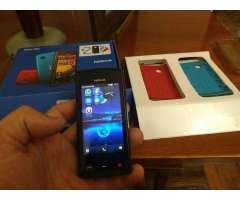 Celular en Caja Nokia 500 con Gps El Cual No Precisa Conexion a Inernet Ideal Viajes