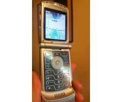 Motorola V3 Impecable Libre