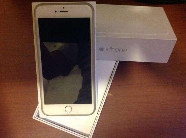 iPhone 6 Plus 16 Gb Blanco en Caja