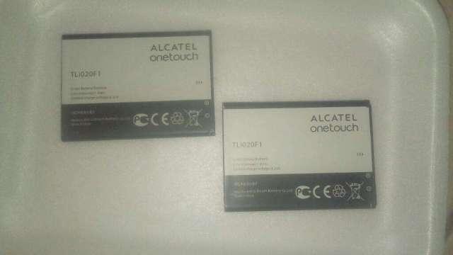 Baterías Alcatel.