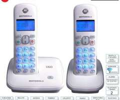 TELEFONO INALAMBRICO MOTOROLA 2 BASES 3500W2 BLAN