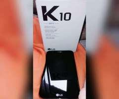 Lg K10 2017 sin Uso Linea Claro