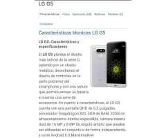 Lg G5 Libre Y con Cargador Inalambrico