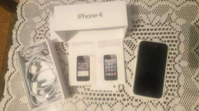 Papa Noel en iPhone 4S