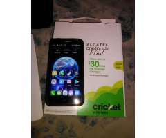 Vendo Celular Alcatel Onetouch Flint.