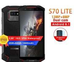 DOOGEE S70 lite, Celular resistente, cámara SONY, muy buenas prestaciones