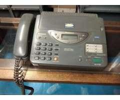 Teléfono Panasonic con Fax