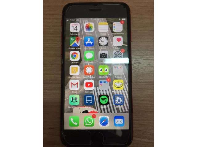 I Phone 8 Red 64 Gigas