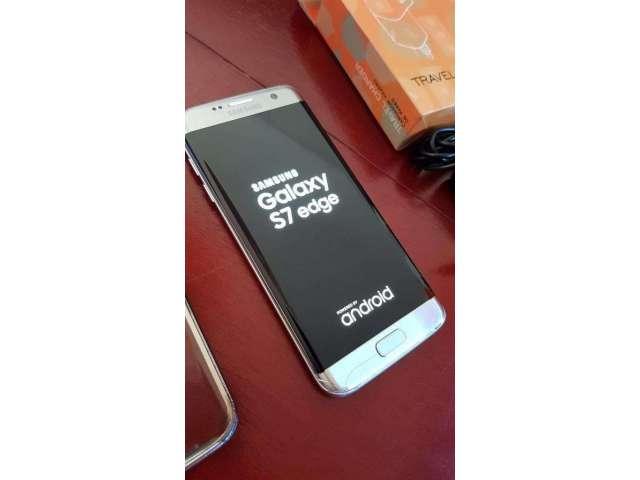 Celular Samsung S7 Edge Libre Dorado 32g