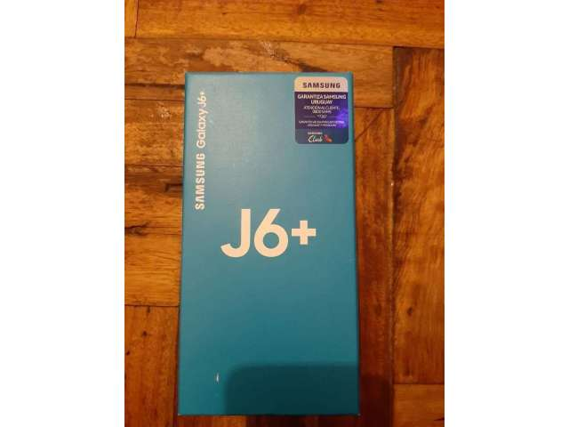 Samsung J6 Plus 32gb Nuevo