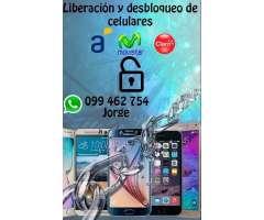 Desbloqueo de celulares! Samsung, LG, XIAOMI, HUAWEI, ETC