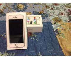 Vendo iPhone 5S Impecable!!!