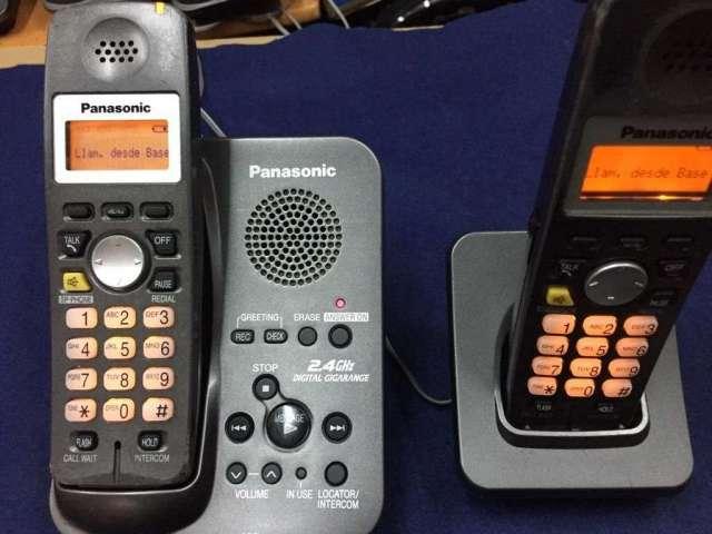 Telefono Inalambrico Panasonic Doble