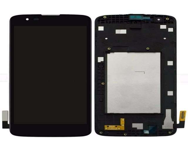 Pantalla Display LG K8 K350 Colocada!!! Vidrio Regalo!!