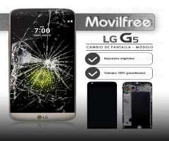 Cambio de pantalla Lg g5