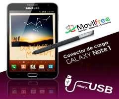 Cambio de conector de carga Samsung Galaxy Note 1