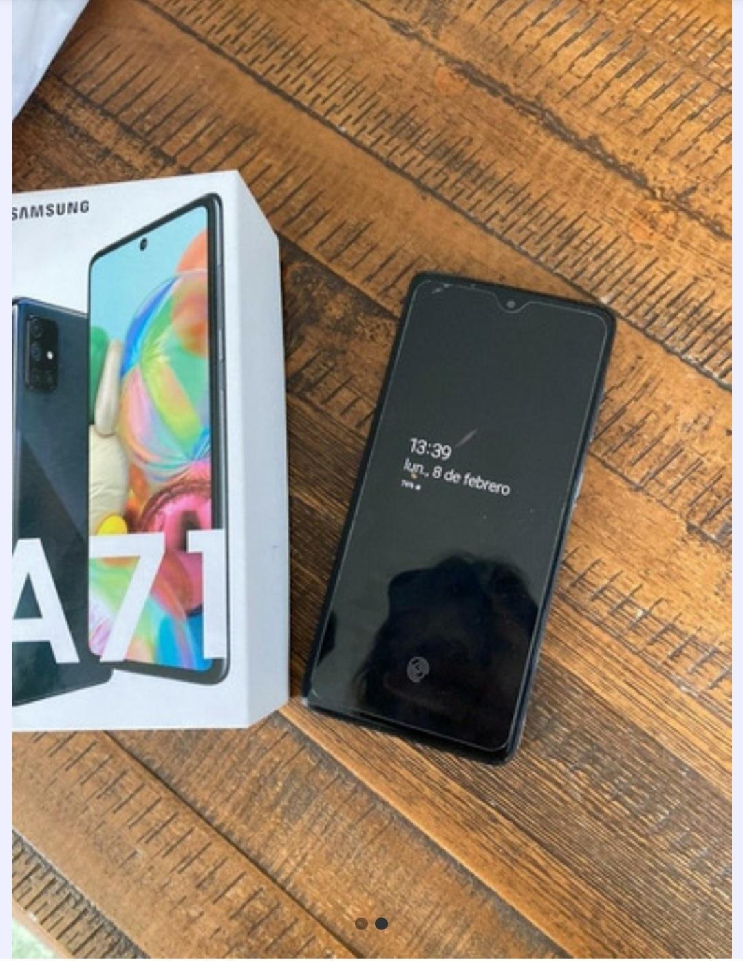Celular Samsung A71 De Antel 128gb 2 Meses De Uso,impecable